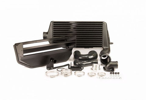 Process West Verticooler Kit(suits Subaru 08-14 GRB WRX) - Black