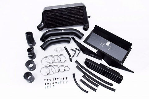 Process West Verticooler Kit (suits Subaru 15-16 VA WRX) - Black