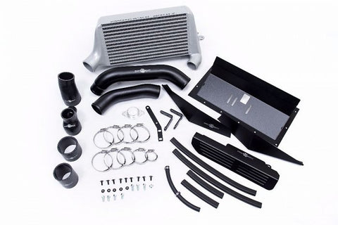 Process West Verticooler Kit (suits Subaru 15-16 VA WRX) - Silver