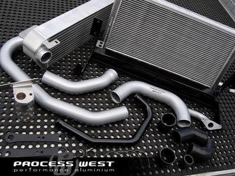 Process West V-Mount Intercooler (suits Subaru 01-07 GD WRX/STI)