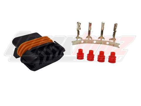 Delphi GM LS1 LS6 D580 Ignition Coil Plug and Pin Connector Kit (Push to Seat)