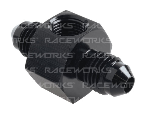 RACEWORKS AN MALE TO MALE WITH 1/8in NPT PORT - Quickbitz