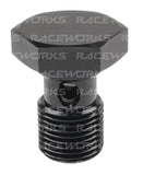 RACEWORKS ALLOY BANJO BOLT 7/16'' X 24 (19mm) - Quickbitz
