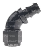 RACEWORKS PUSH LOK HOSE FITTING 60 Deg - Quickbitz