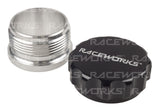 RACEWORKS WELD ON ALUMINIUM FILLER WITH FEMALE CAP 1in - Quickbitz