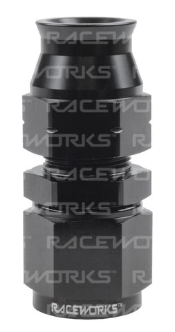 RACEWORKS FEMALE AN-6 TO 3/8'' STRAIGHT TUBE ADAPTER - Quickbitz