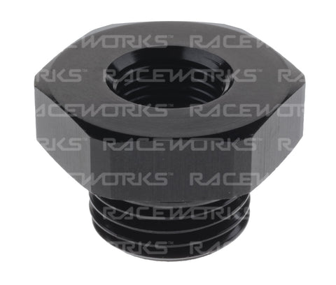 RACEWORKS AN-10 O-RING MALE TO FEMALE 1/8'' NPT REDUCER - Quickbitz