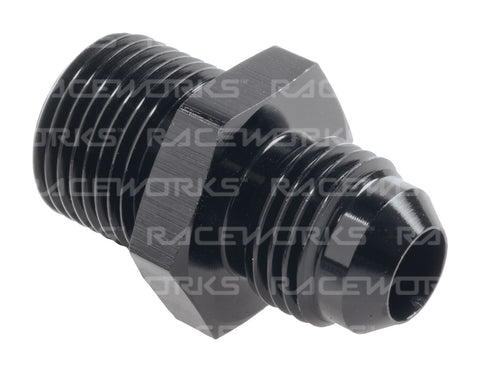 RACEWORKS MALE FLARE AN-6 TO MALE BSPP 3/8'' - Quickbitz