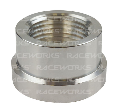 RACEWORKS AN-8 FEMALE ALUMINIUM WELD ON - Quickbitz
