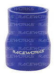 "RACEWORKS SILICONE HOSE REDUCER STRAIGHT 3""- 3.75'' (76-95mm) - Quickbitz"