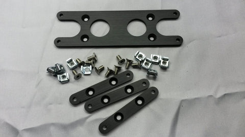 Haltech Sport & Platinum Mounting Plate including 3 x CAN Device Mounts - Quickbitz