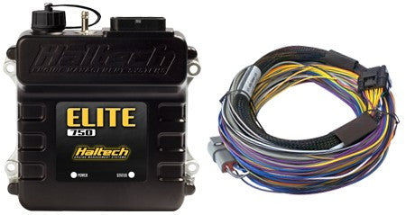 Elite 750 - 2.5m (8 ft) Basic Universal Wire-in Harness Kit