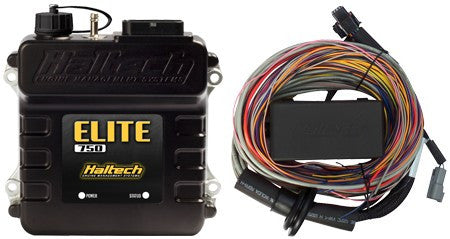 Elite 750 - 2.5m (8 ft) Premium Universal Wire-in Harness Kit - Quickbitz