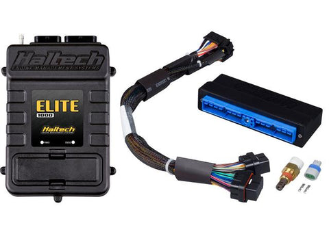HALTECH Elite 1000 Plug 'n' Play Adaptor Harness ECU Kit - Nissan Silvia S13 (SR20DET)