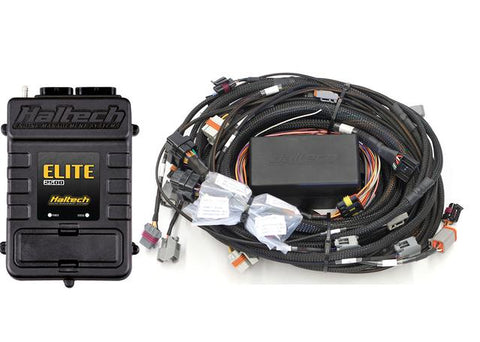 HALTECH Elite 2500 with RACE FUNCTIONS -  GM GEN IV LSx (LS2/LS3 etc) non DBW Terminated Harness ECU Kit