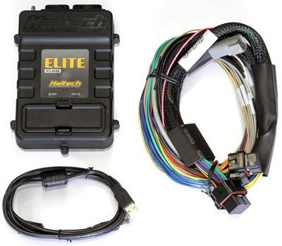 Elite 1500 (DBW) with RACE FUNCTIONS - 2.5m (8 ft) Basic Universal Wire-in Harness Kit - Quickbitz