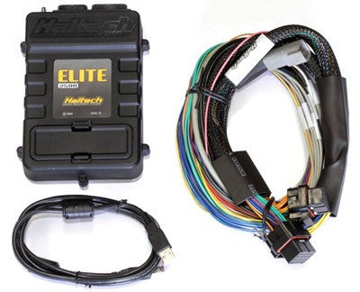 Elite 2500 (DBW) with RACE FUNCTIONS - 2.5m (8 ft) Basic Universal Wire-in Harness Kit - Quickbitz