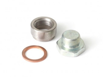 O2 Sensor Weldable Fitting Bung and Blanking Plug M18 x1.5 - Quickbitz