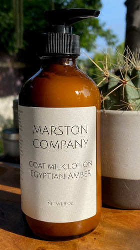 Goat Milk Lotion- Egyptian Amber