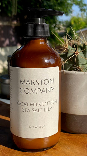 Goat Milk Lotion- Sea Salt Lily