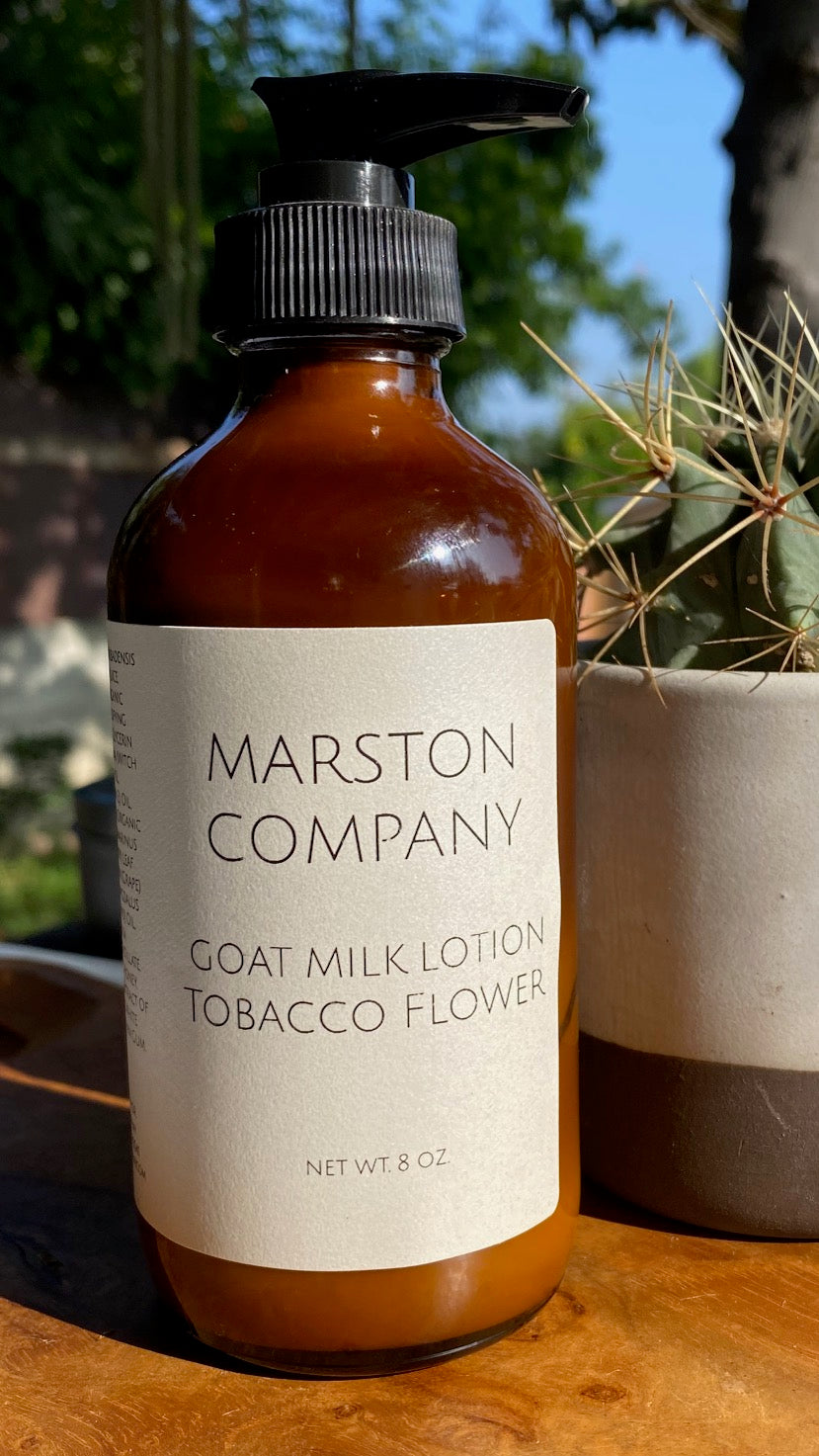 Goat Milk Lotion- Tobacco Flower
