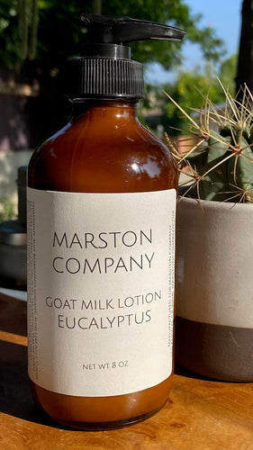 Goat Milk Lotion- Eucalyptus