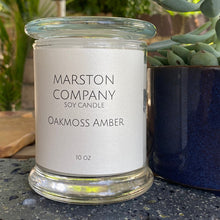 Load image into Gallery viewer, Oakmoss Amber Soy Candle