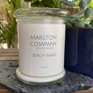 Birch Bark Soy Candle