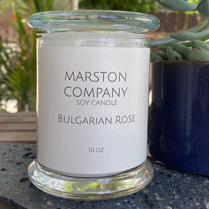 Bulgarian Rose Soy Candle