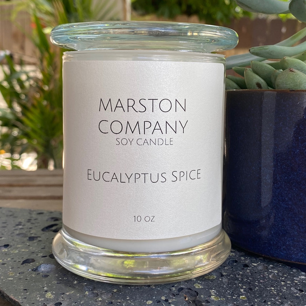 Eucalyptus Spice Soy Candle