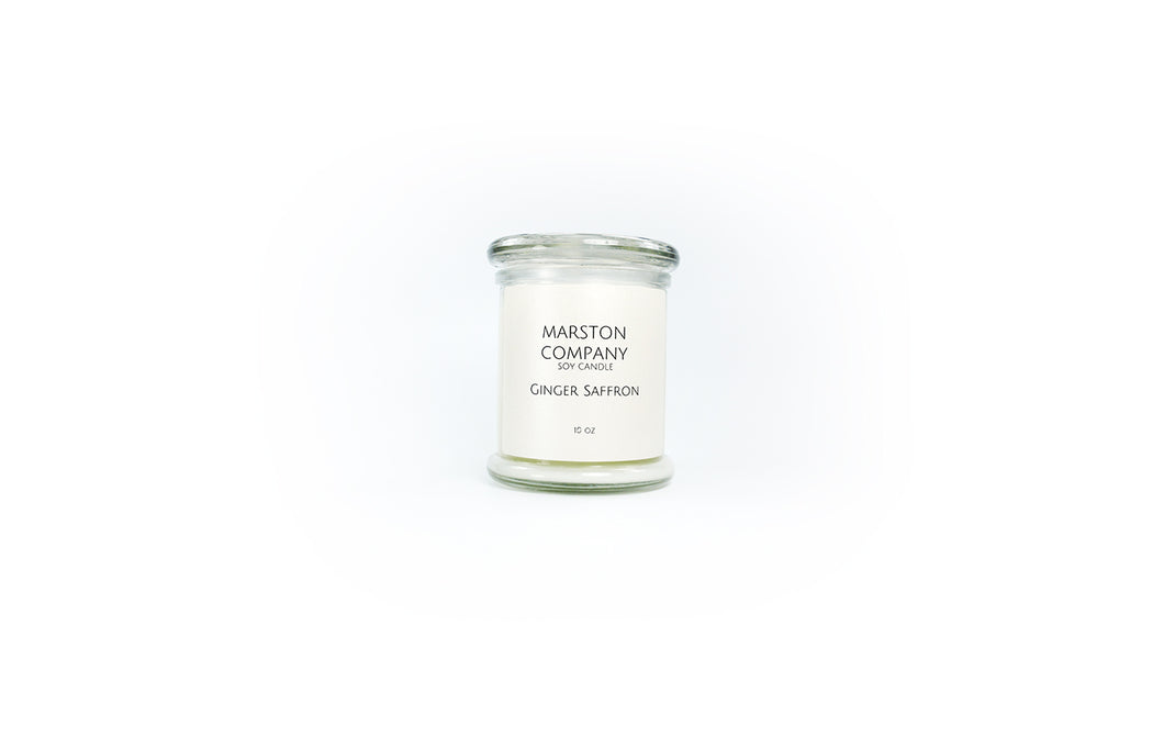Ginger Saffron Candle