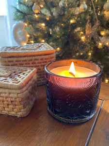 LIMITED wood wick soy candle