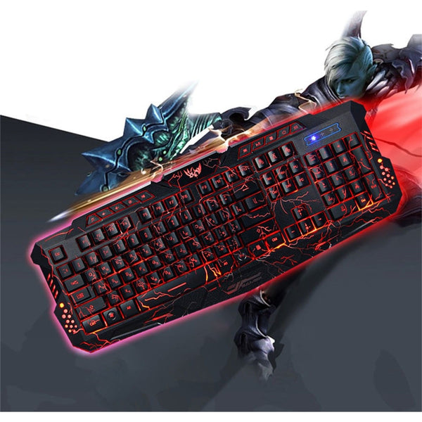 Bilingual Russian / English Gaming Keyboard