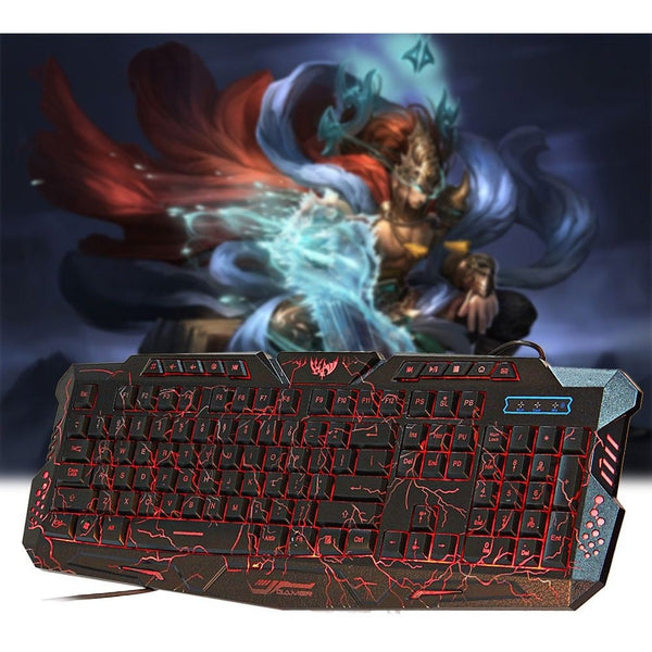 Backlight LED Pro Gaming Keyboard