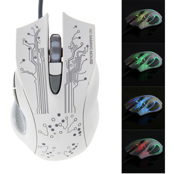 Adjustable USB wired Mouse