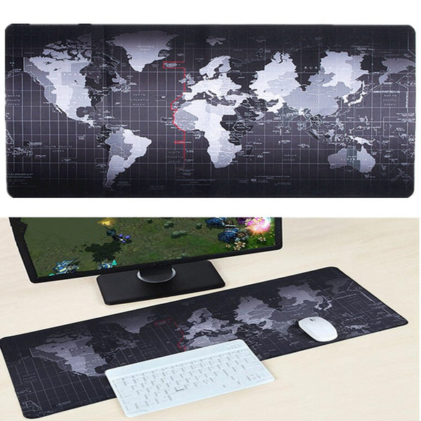 World Map Large Size Mouse Pad