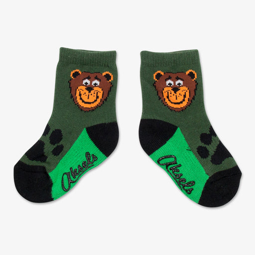 Aksels Happy Bear Toddler Socks