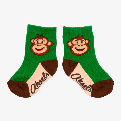Aksels Toddler Monkey Socks