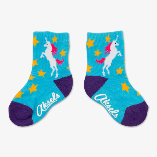 Aksels Unicorn Toddler Socks
