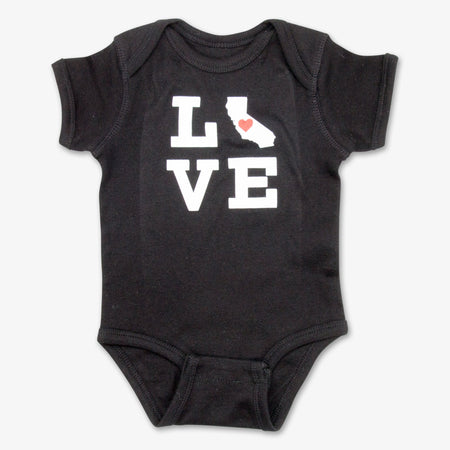 California Love Onesie - Black
