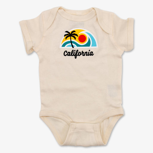 California Surf Onesie - Tan