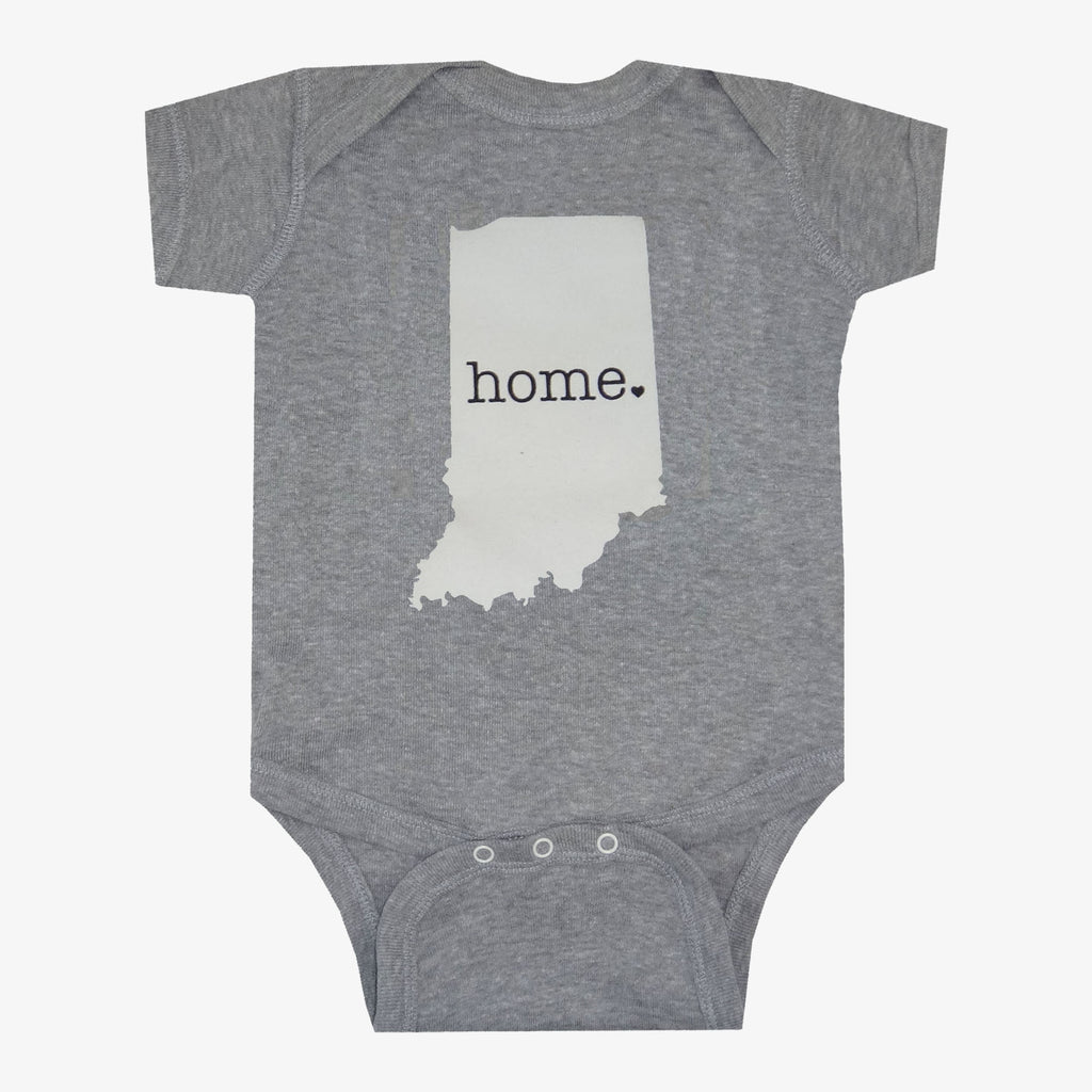 Indiana Home Onesie - Gray