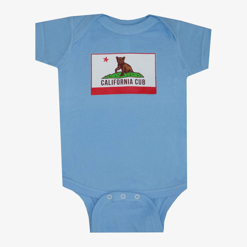 California Cub Onesie - Red