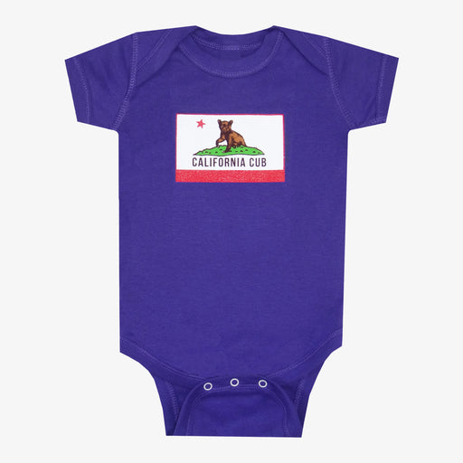 California Cub Onesie - Purple