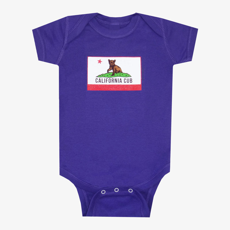 California Cub Onesie - Gray
