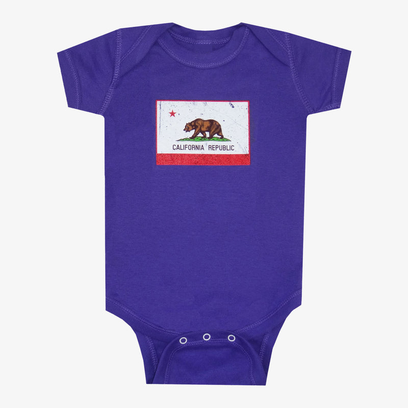 California Flag Onesie - Red