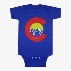 Colorado C Mountain Onesie