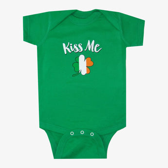 Ireland Kiss Me Onesie