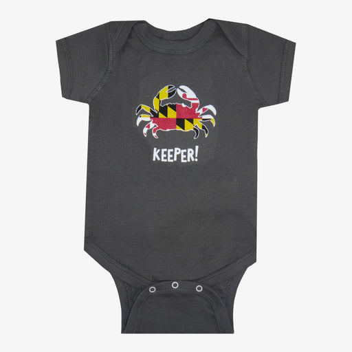 Maryland Flag Crab Keeper Onesie
