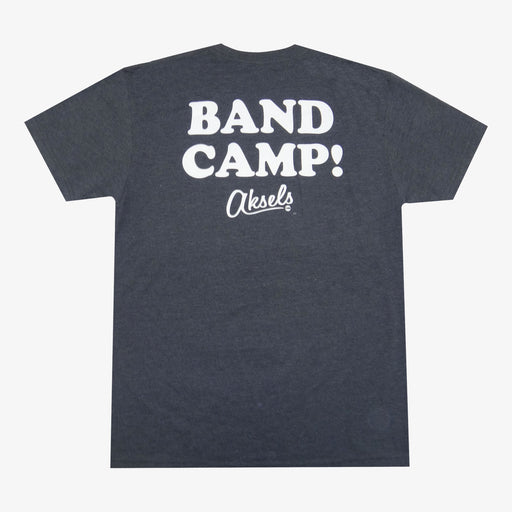 Aksels Band Camp T-Shirt - Charcoal